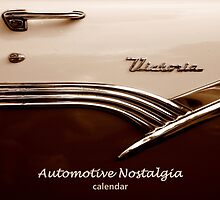 Automotive Nostalgia Calendar Cover by artisandelimage