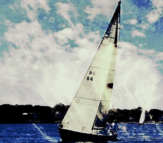 Sailing by Rick  Todaro