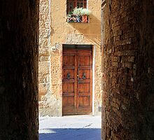 Pienza Passageway by Inge Johnsson