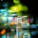 A Wet Night at McD's by Nick Ryan