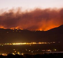 Fourmile Canyon Fire by Bo Insogna