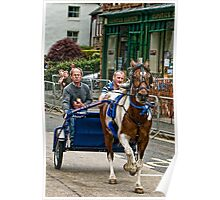 Trotting in Appleby Poster