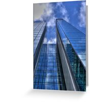 Towering Greeting Card