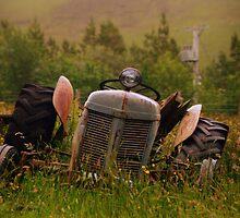 Tractor Tears. by Aj Finan