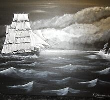 tall ship by james dunnachie