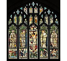 The East Window of Troutbeck Church, Cumbria Photographic Print