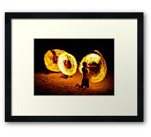 Playing with fire (1) Framed Print