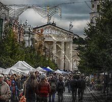 2010 09 04 Vilnius 6, Celebration street by Antanas