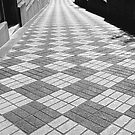 checkered walkway by tego53