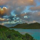 Mary Point Dawn - St. John, USVI by Stephen Vecchiotti