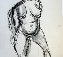 Bodies 1: Figure Sketch by SSFFineArt