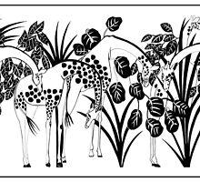 Giraffes by magicalview