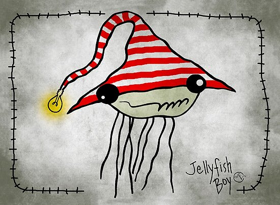 Jellyfish Boy by sandygrafik