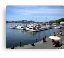 Inner Harbour, Victoria Canvas Print