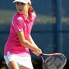 Sydney Homebush Tennis by Tony Bowler