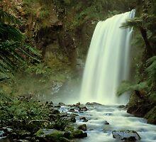 Hopetoun Falls September 2010 by Daniel Hurst