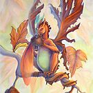 Maple Leaf Fairy Dragon by katemccredie