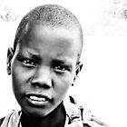 Maasai Girl in Kenya by Patrick  Ellis