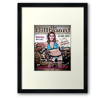 Atomic Frolic Framed Print