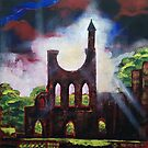 Byland Abbey by Martin Williamson (©cobbybrook)