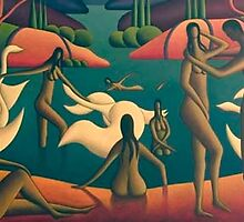 The Bathers by Alan Kenny