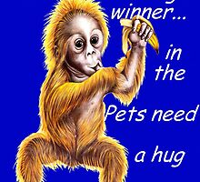 Banner for Pets need a hug challenge entry by Margaret Sanderson