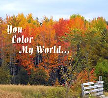 You Color my World by katpix
