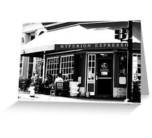 Hyperion Espresso | Travel Greeting Card