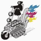 Grim Hellraiser Rides Again 2 by heikowindisch