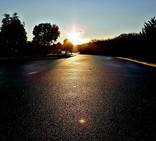 Road Wash by Rinaldo Di Battista