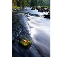 Picturesque countryside river Photographic Print
