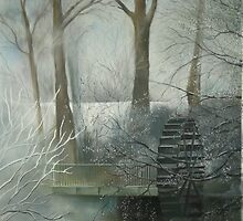 The Old Water Wheel by ritagee