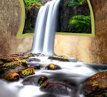 Mystical Waterfall by Shannon Rogers
