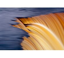 Slow motion waterfall Photographic Print