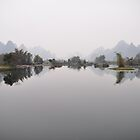River and Karsks - Yangshou by darylbowen
