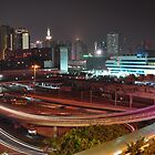 Shenzen at Night by darylbowen