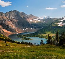 Hidden Lake by JimGuy