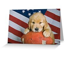 All-American Dog Greeting Card