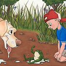 I Brought You a Present (Dog and Frog) by murrayjodie