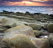 Sunset Rays over the Moray Firth by Christopher Thomson