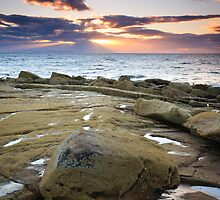Sunset Rays over the Moray Firth II by Christopher Thomson