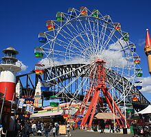 Wheel With A View - Luna Park, Sydney by sparkographic