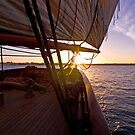 We set sail at sunset by Andrew (ark photograhy art)