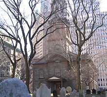 Historic St. Paul's Chapel, Manhattan, N.Y. by Patricia127