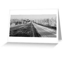 Alaska Highway 1 Greeting Card
