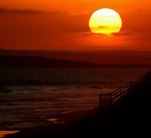 Sunset,13th Beach by Joe Mortelliti