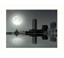 Downtown Milwaukee...Lake View ©  Art Print