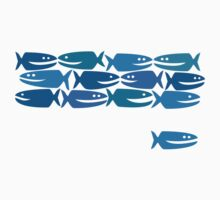 Blue Fish, not Red Fish by Jane McDougall