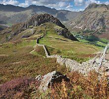 Side Pike From Lingmoor Fell by SteveMG