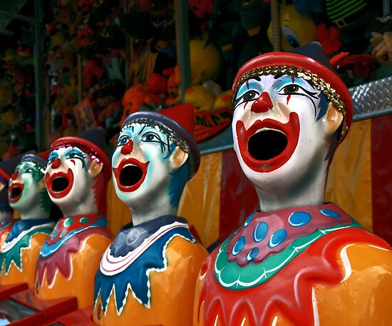 Clown Choir by Stephen Mitchell